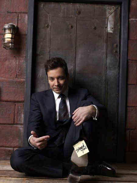 Jimmy Fallon will always be my crush and love because he's hilarious.