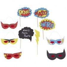 Photo Booth Hero Props (10Teile)