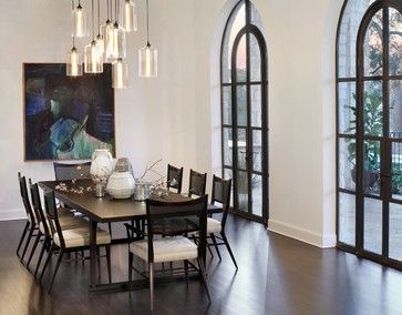 Niche Modern Bella Pendants Dont Know Who The Room Is By But I Love It Rustic Industrial Super Clean Comfortable