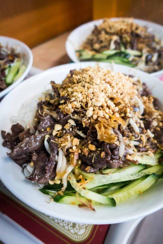 Vietnamese Bun Bo Nam Bo - FoodiesFeed