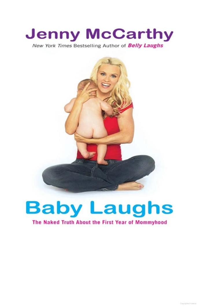 Belly Laughs by Jenny McCarthy....loved this book when I pregnant.  So funny and true!