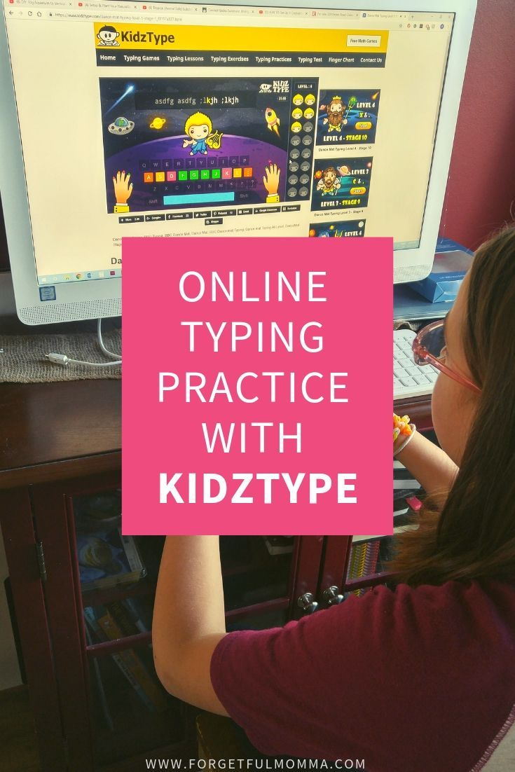 Online Typing Practice With KidzType Typing programs for