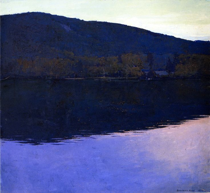 The Athenaeum - Dublin Pond (Rockwell Kent - )