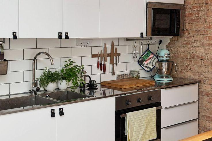 Loft cocina fregadero