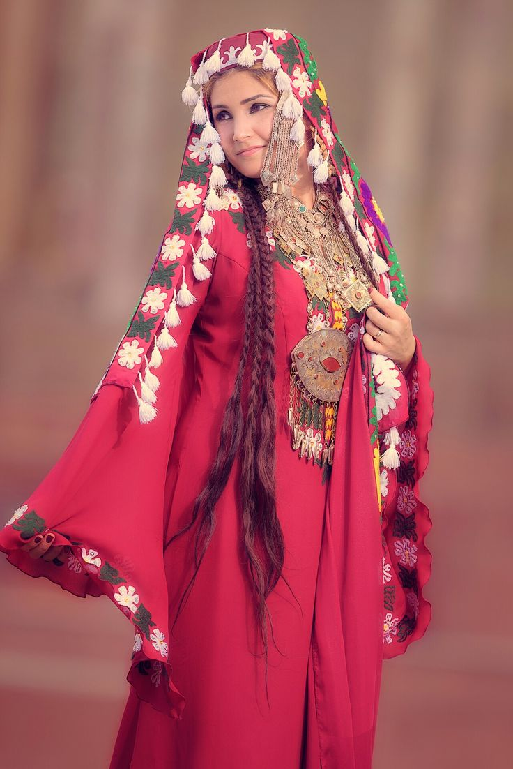 женская таджикская национальная одежда фото приспособлений