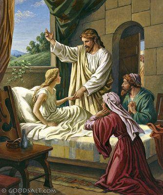 Luke 8: Jairus' Daughter Restored to Life