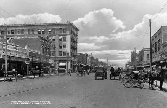 Undated, downtown Wichita Falls - Vintage WF | Wichita Falls CVB