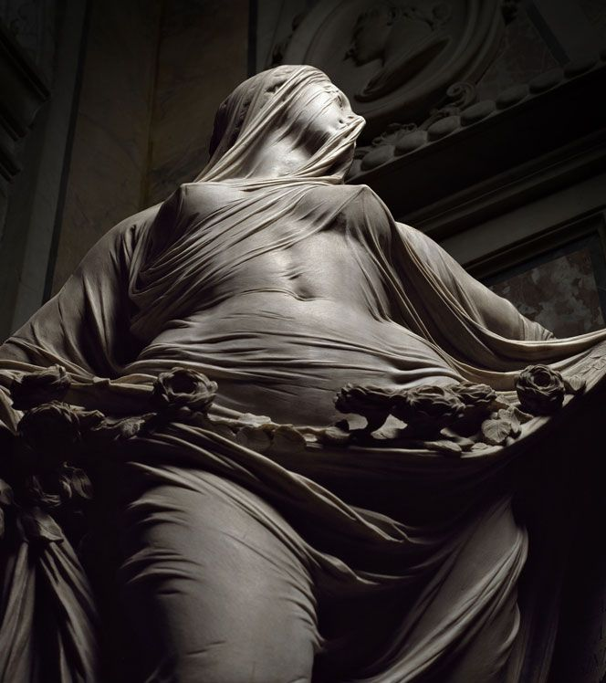 """Veiled truth"" is one of the masterpieces of Venetian sculptor Antonio Corradini (1688-1752), which he created for Naples' Cap..."