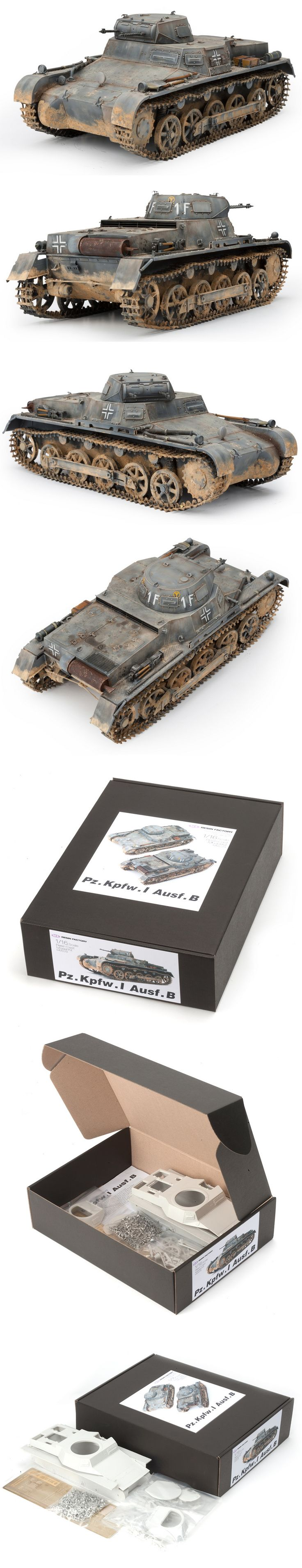 1/16 resincast model kit Pz.Kpfw. 1 Ausf.B