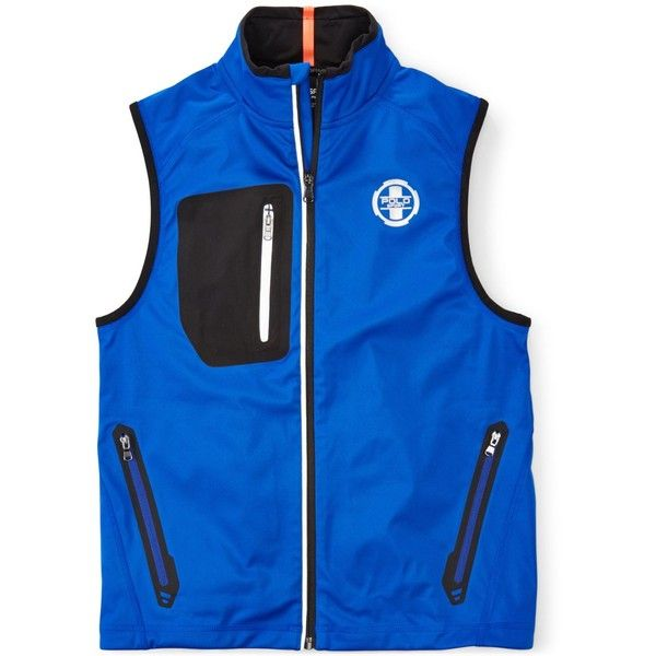 Ralph Lauren Boys' Full-Zip Sleeveless Polo Sport Vest ($81) ❤ liked on Polyvore featuring men's fashion, men's clothing, men's outerwear, men's vests, sapphire star, mens vest, ralph lauren mens outerwear, mens vests outerwear, mens full zip sweater vest and mens sleeveless vest