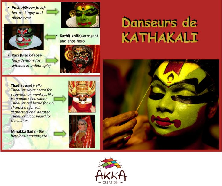 Kathakali (കഥകളി, (katha history and kali, play, in Malayalam)) is a form of dance originating from the state of Kerala in southern India. It is a dramatic combination of drama, dance, music and ritual.    https://fr.wikipedia.org/wiki/Kathakali    #ethicalnewyear2018