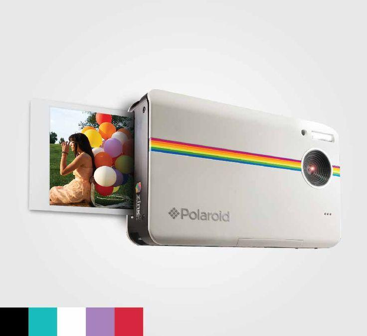 Polaroid Z2300 Instant Digital Camera // camera, cameras, film, photography