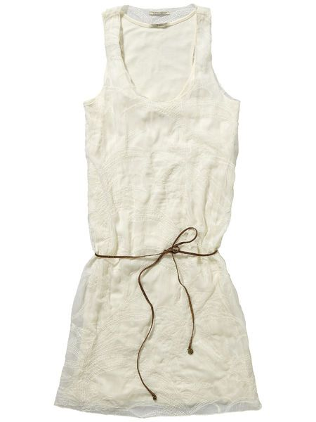 NEW AT BIIRD | MAISON SCOTCH 2 IN 1 EMBROIDERY DRESS > $199.95 | IN STORE NOW
