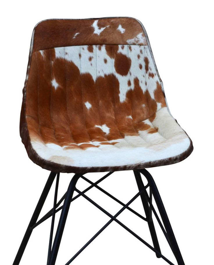 $399 Eames Style Cowhide Chair – Allissias Attic & Vintage French Style