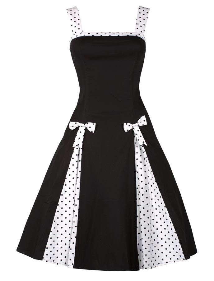 """Robe Pin Up """"Lainey"""" - Noire"""
