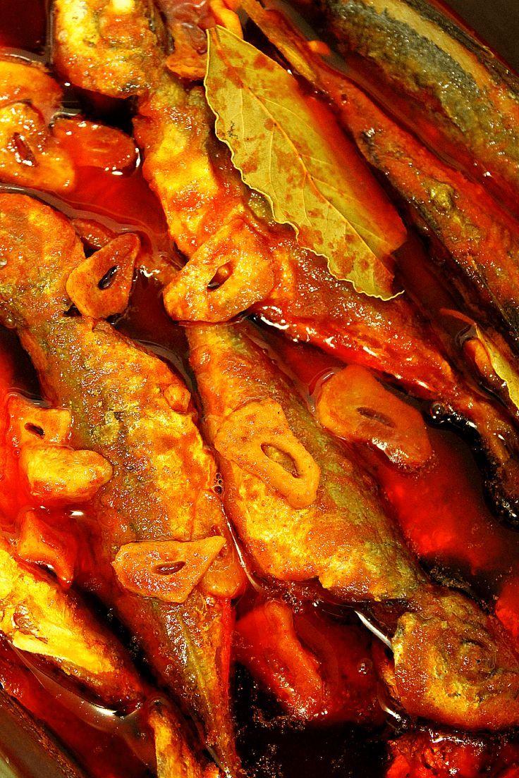 LAS SALSAS DE LA VIDA: Escabeche para pescado
