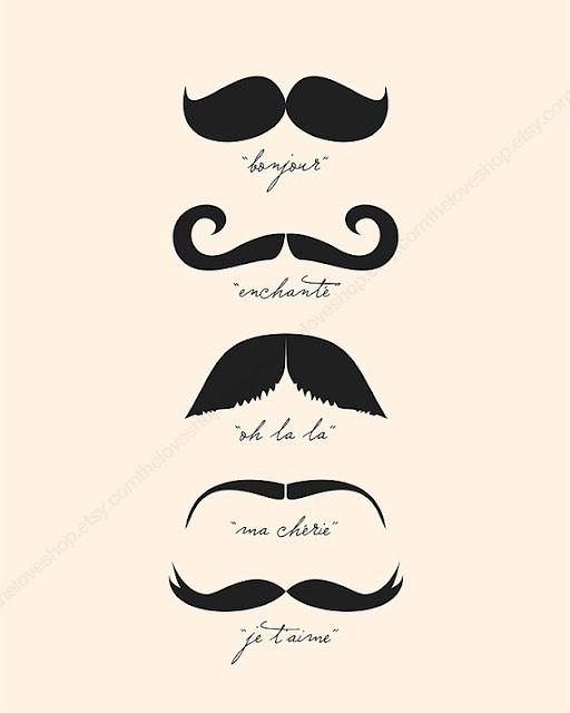 moustache   druk je snor tijdens een feestje