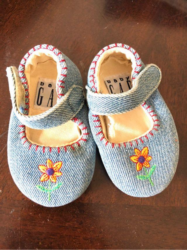 Baby Gap Crib Shoes Size 1 | Crib shoes