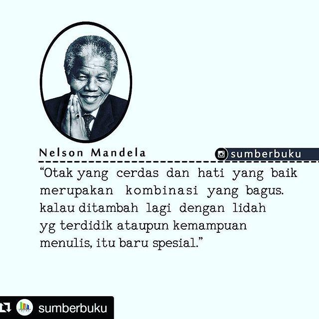 Top 100 nelson mandela quotes photos Untuk seseorang yg sering menghadiahiku buku Nelson Mandela. Terima kasih・・・💋💋 3 PELAJARAN KEPEMIMPINAN DARI NELSON MANDELA  1. Kepemimpinan Itu Mengedepankan Perilaku, Bukan Jabatan.  Meskipun Mandela hanya menjadi penguasa di Afsel selama 5 tahun, beliau mampu menjadi panutan warga dunia. Mandela merupakan contoh klasik bagaimana seseorang...