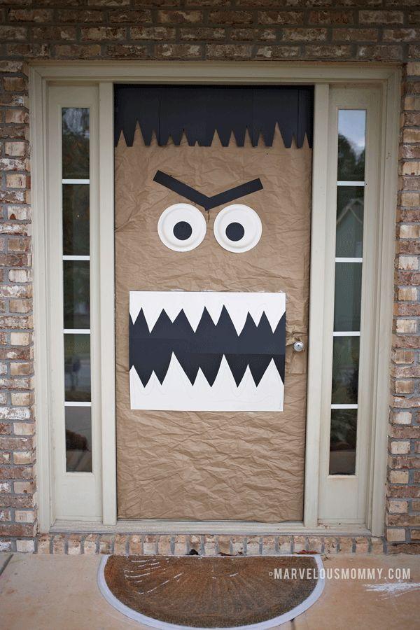 25 Best Ideas About Monster Door Decoration On Pinterest