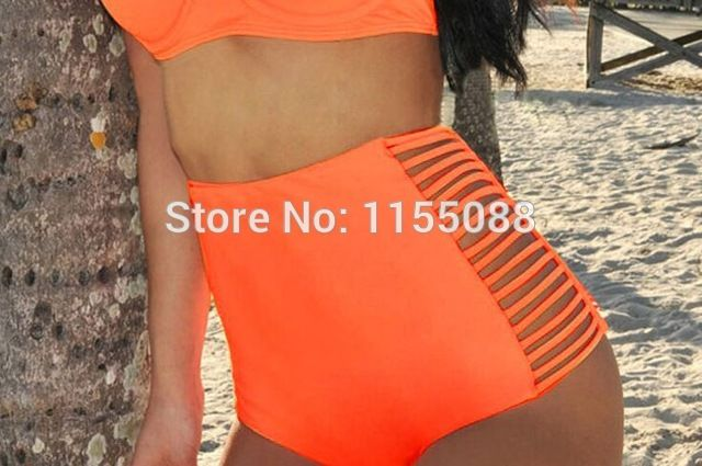 100PCS Hot selling nice Vintage High Waist Bikini Set Conservative Swimsuits Fashion Sexy Push Up Swimwear Bikini Set US $619.99 /lot (100 pieces/lot) Specifics Item Type	Bikinis Set Gender	Women Pattern Type	Solid Brand Name	oem Waist	Low Waist Material	Nylon,Spandex Support Type	Wire Free With Pad	Yes Model Number	a4223 weight	200g  Click to Buy :http://goo.gl/f7KovS
