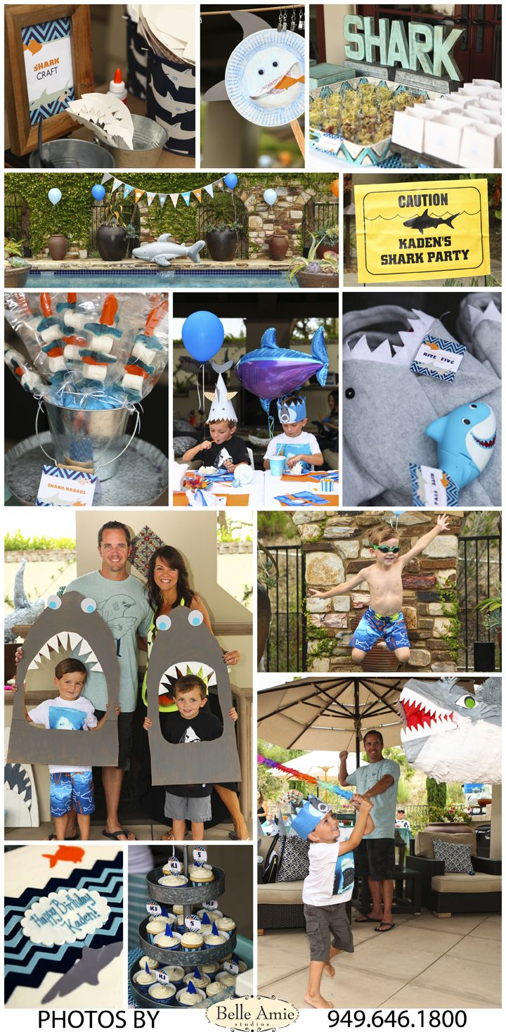 Shark Pool Party Ideas celebrate shark week with this fun shark tank jello 5 Year Old Shark Party Pool Party