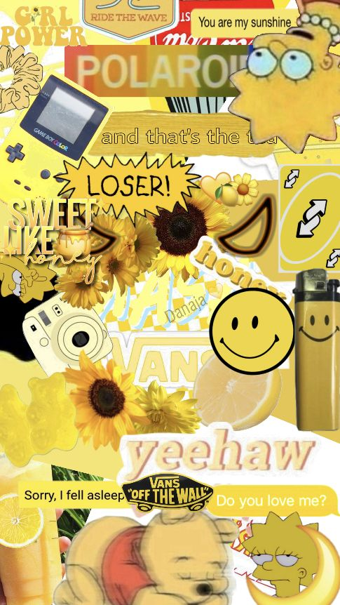 My First Wallpaper Yellow Aesthetic Yellowaesthetic
