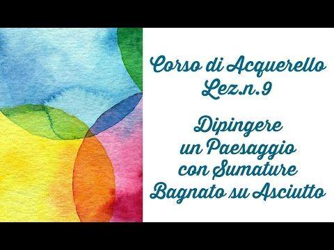 Corso di Acquerello: Lezione n.35 Come Dipingere le PIUME in DUE MODI (by ART Tv) - YouTube