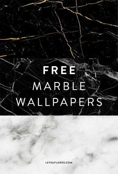 Marble smartly bridges the gap between masculine and feminine. It screams elegance, but whispers that it does not want to be noticed. Marble is the perfect minimalist accessory, wouldn't you agree? As promised in my first Trend series post, here are the marble wallpapers I've created for you. You can choose from black/gold vein, black/grey or white carrara marble... #download #freebies #marble