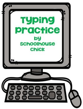 Technology is a huge part of our students education.  Even young students need keyboarding skills.  This pack includes an anchor chart of proper keyboarding position, a students workbook and a keyboard page to use for practice  when computers are not available.