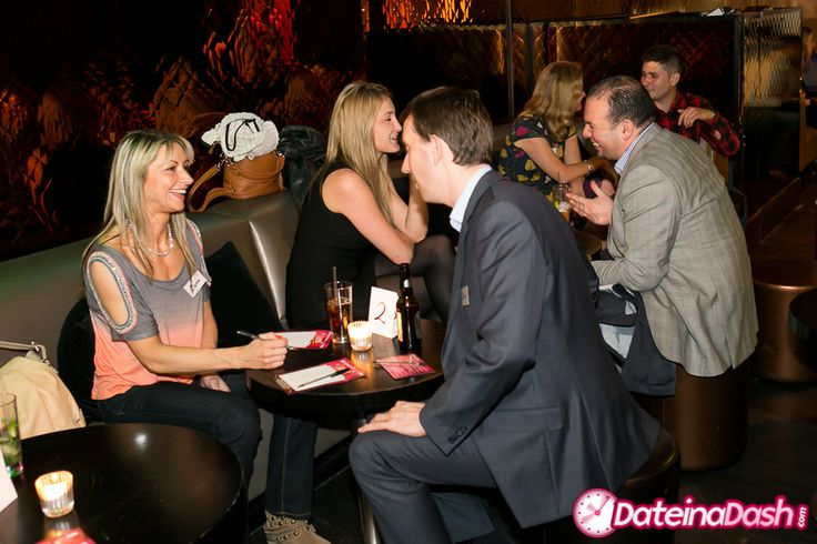 Speed Dating at Eclipse bar in South Kensington.