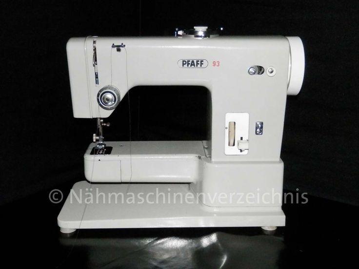 Pfaff 93 Nähmaschine auf naehmaschinenvereichnis.de
