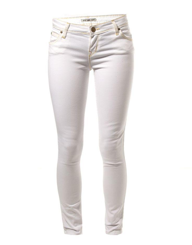 LEE   Scarlett Skinny Jeans in White - Women - Style36  #RihannaStyle36