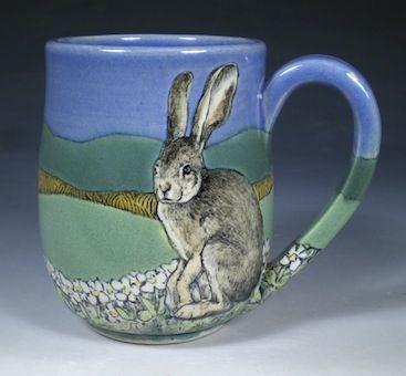Nan Hamilton Hare Mug: