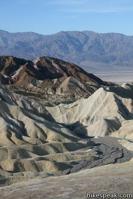 The view over the badlands from Zabriskie Point - so close to L.A. yet I've never been to Death Valley.