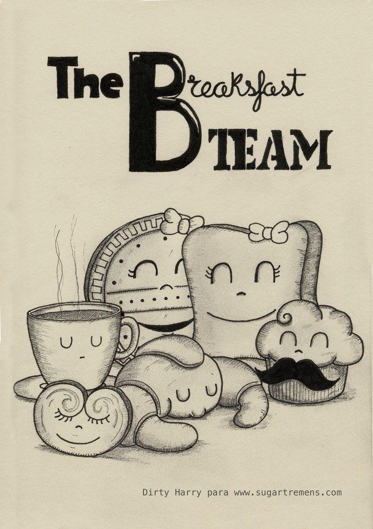 the breaksfast team, por Dirty Harry para Sugartremens