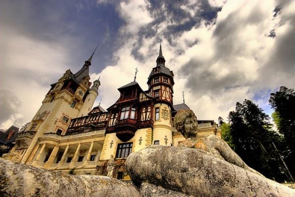 Peles Castle, Romania.