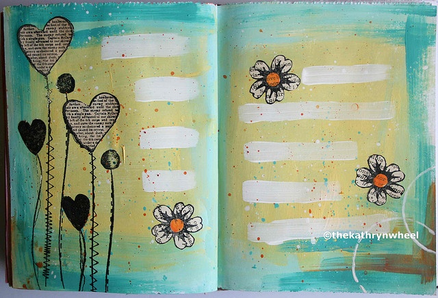 página de art journal