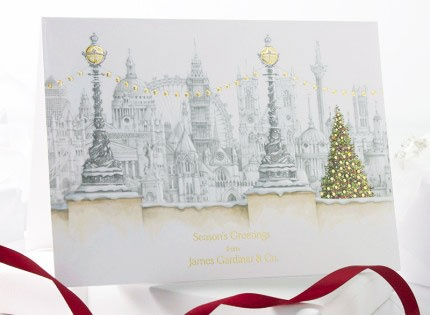 31 best corporate christmas cards images on pinterest corporate capital christmas foil personalised christmas cards 2e040 colourmoves Choice Image