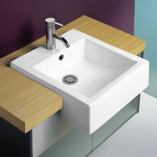 Caroma Liano Semi Recessed basin - for when we remodel our bathroom