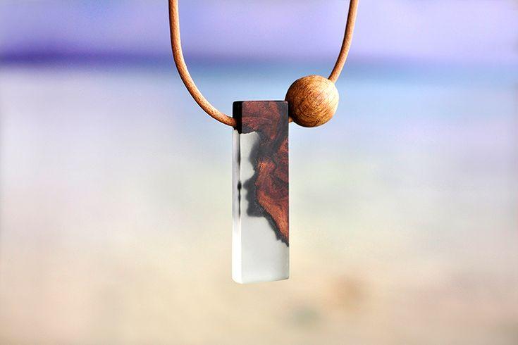 Washed ashore necklace