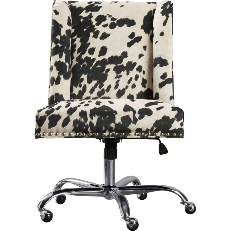 Cow Print Office Chair was uploaded on April 30, 2017. You can find great ideas of Cow Print Office Chair in our site and scroll down for more inspirations. We hope you can find what you need here. We always effort to show a picture with HD resolution or at least with perfect images.