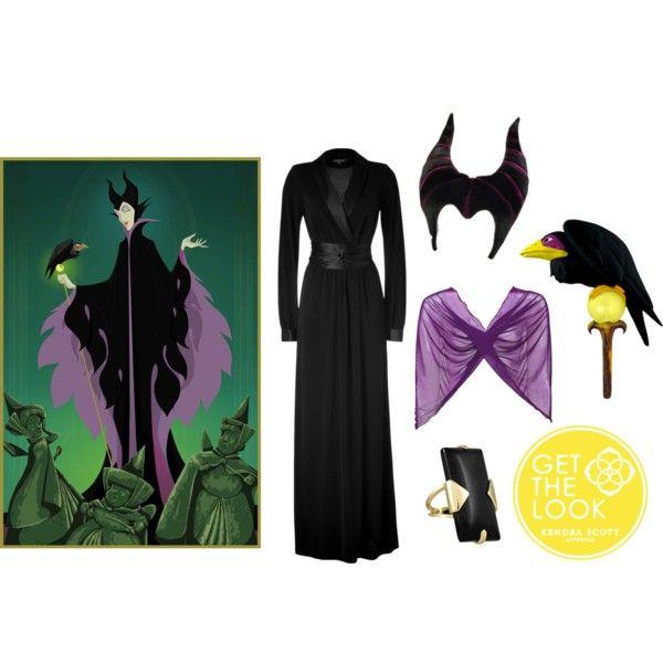 """Haute Halloween Costume: Maleficent"" by kendrascott on Polyvore"