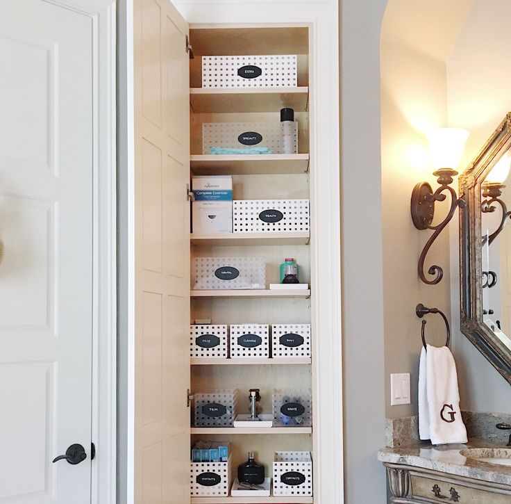 59 Best Neat Bathrooms Images On Pinterest  Bathroom Organization Magnificent Bathroom Remodel Stores Design Inspiration