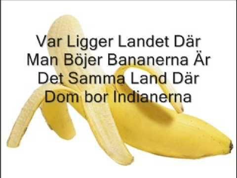 Var ligger landet där man böjer bananerna