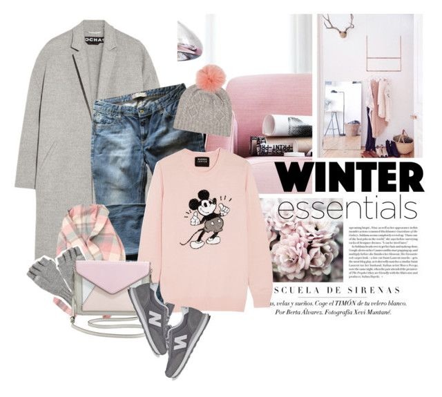 """""""Winter Time"""" by erino9519 ❤ liked on Polyvore featuring Rochas, Levi's, Markus Lupfer, Calypso St. Barth, Rebecca Minkoff and New Balance"""