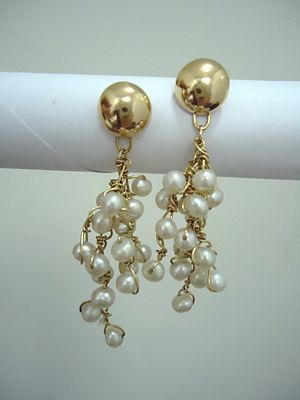 The presence of pearl enhances the beauty of a wearing person! No matter what the style of a Pearl jewelry is, it will always suit to all your requirements and this is the only jewel that is similar popular between modern and traditional peoples. The jewelry of Pearl will be perfect with anything. #Pearls #pearlsonly #PearlEarrings