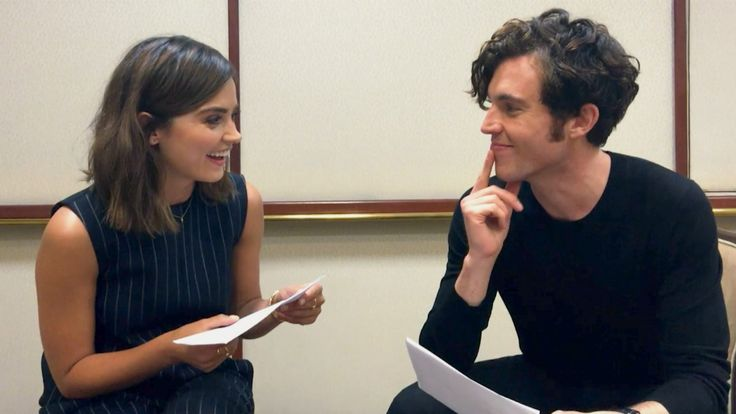 """Victoria stars Jenna Coleman and Tom Hughes play the game """"Would You Rather?""""! #VictoriaPBS"""