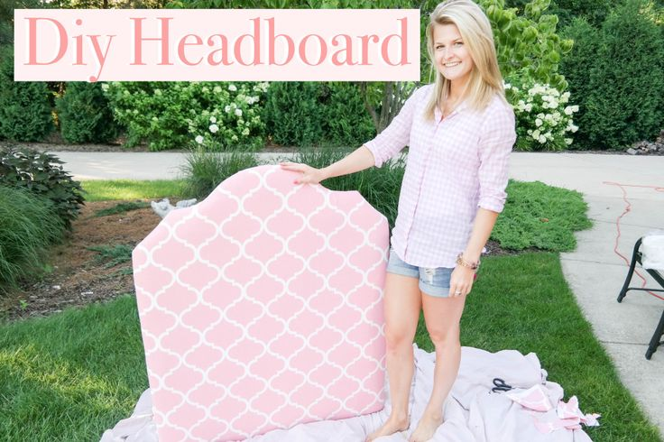 DIY dorm headboard The Fashion Keye