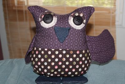 'Owl You Need' sewing caddy
